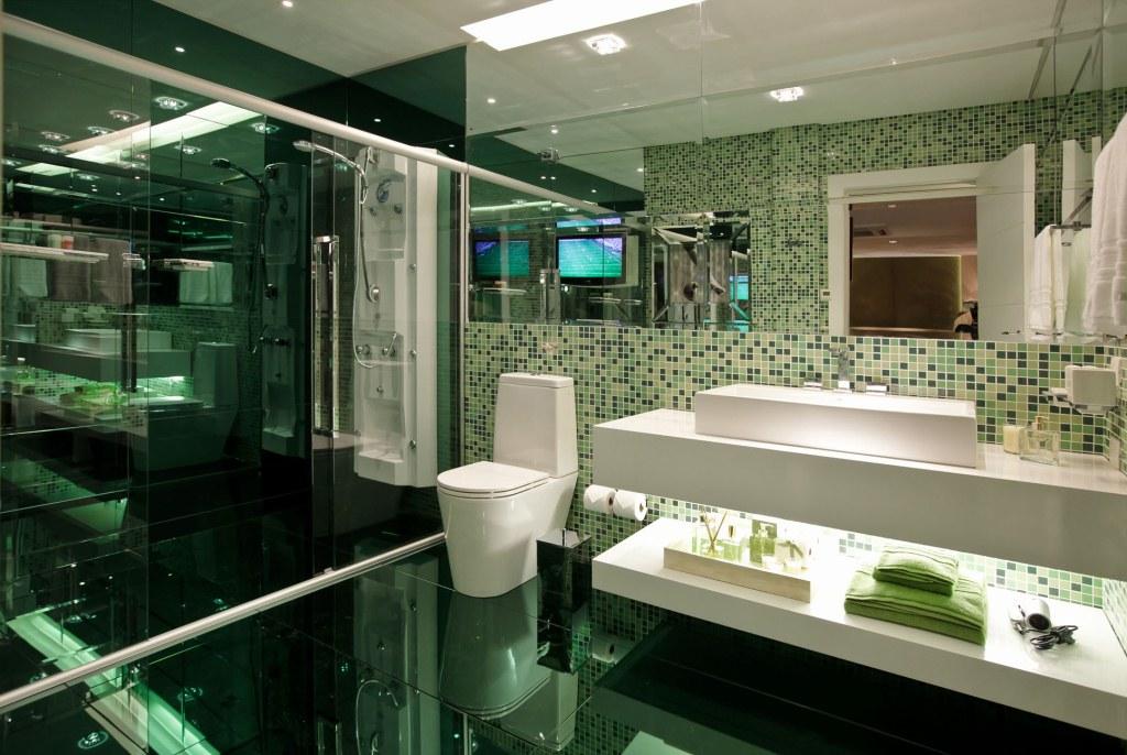 Banheiro Suite Brasil - ARQ Luaciana Baggio - HOTFLOOR PISOAQUECIDO